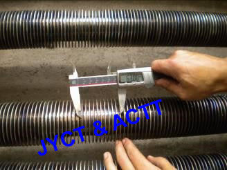 Welded Continuous Helical Boiler Fin Tube With Base Tube Material SA210 Gr.A1