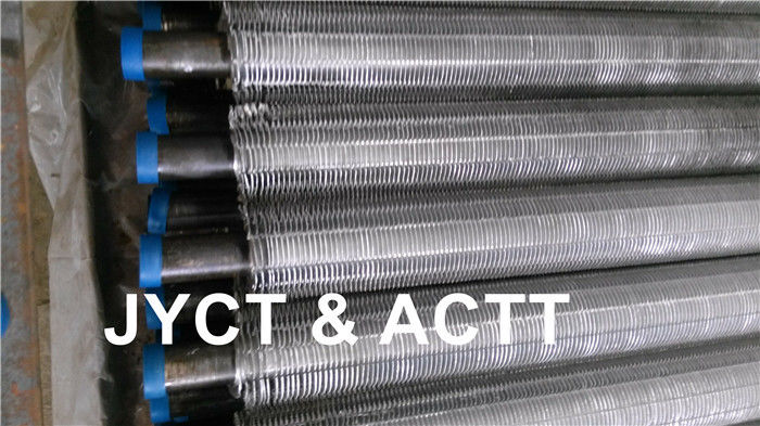 Extruded & Settated Fin Tubes For Heat Exchanger Aluminum Copper Carbon Steel Material