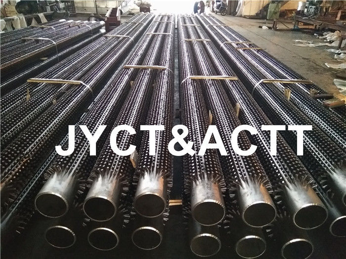 High Strength Studded Fired Heaters Tube / Welding Pin Tube ASTM A106