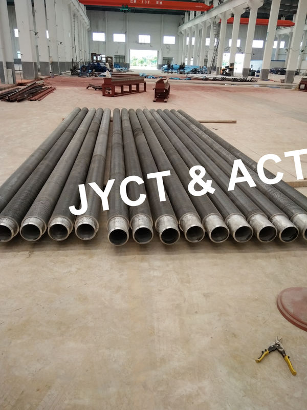 Solid Sprial Welded Finned Tubes / Helical Fin Tube For Heat Exchanger