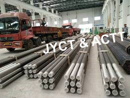 Seamless HFW Sprial Boiler Fin Tube , Welded Econimizer Fin Tube Carbon Steel Material