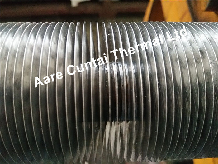 G Aluminum Heat Exchanger Fin Tube , Embedded Spiral Fin Tube Anti Corrosion