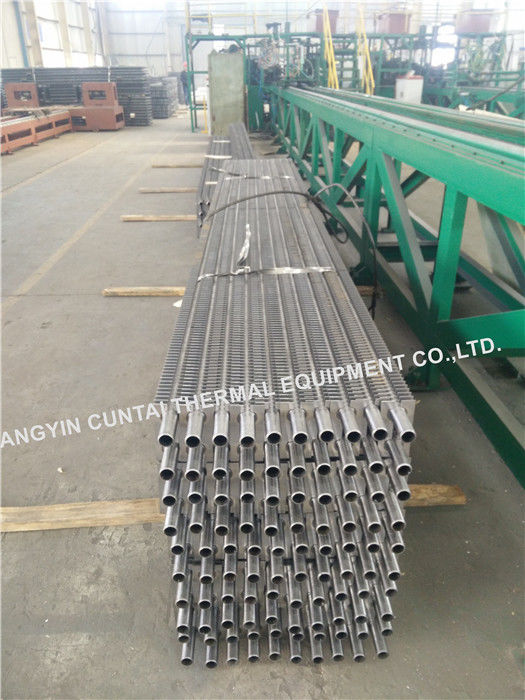 Welded Rectangular HH Type Carbon Steel Finned Tubes For Economizer