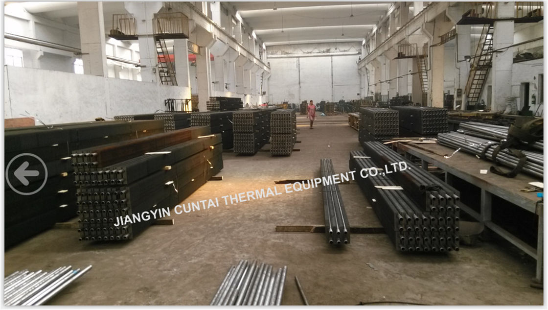 Industrial HH Type Square Fin Tube For Heat Exchanger SA192 SMLS 38mm OD