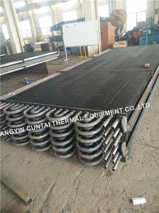High Frequency Welding HH Fin Tube SA192 SMLS For Boiler / Cooler ISO Certificate