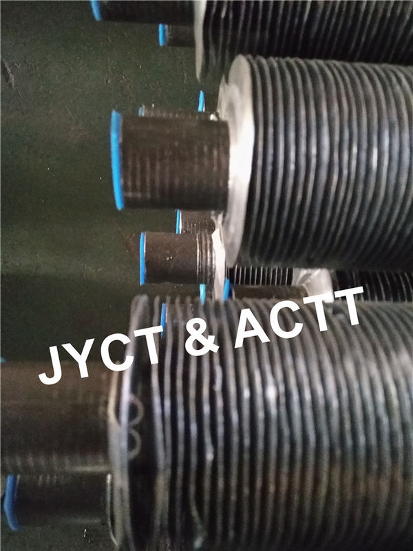 Carbon Steel G Type Embeded Fin Tube For Heater Parts / Air Cooled Condenser