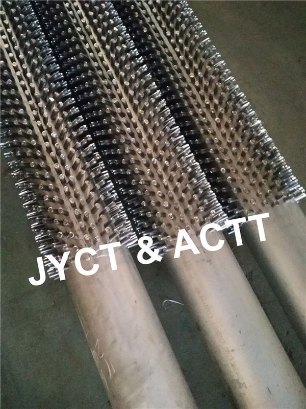 Carbon Steel Fired Heaters Studded Tubes And Pipe OD 114.3mm X 6.02 X 6100 mml