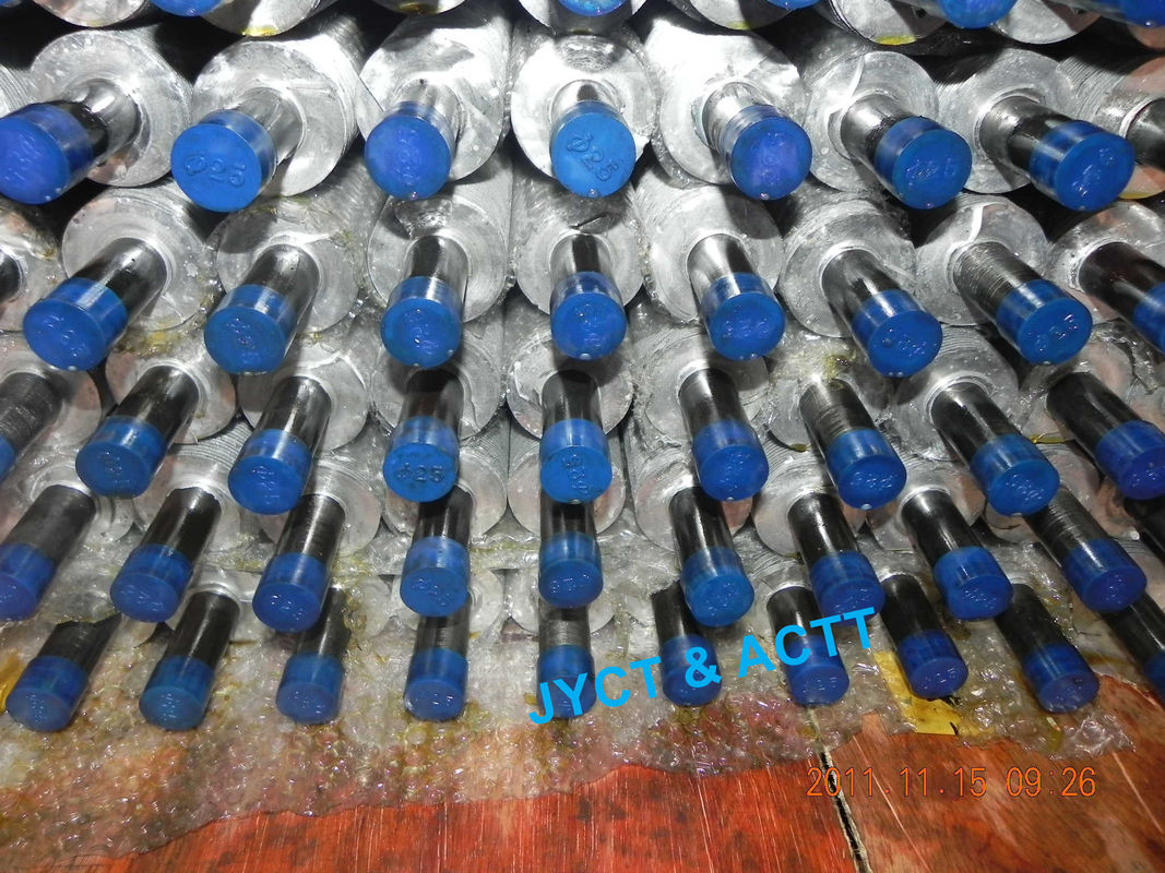 Extruded Spiral Aluminium Finned Tubes , L Type Wrapped Fin Tube High Efficient